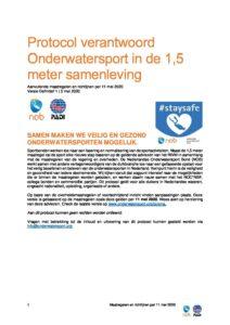 Protocol verantwoord onderwatersport in de 15 meter samenleving pdf 212x300 - Protocol verantwoord onderwatersport in de 1,5 meter samenleving