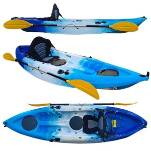 blauwwit 300x300 - Kayaks - Soorten en maten