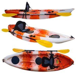 oranjewit 300x300 - Kayaks - Soorten en maten